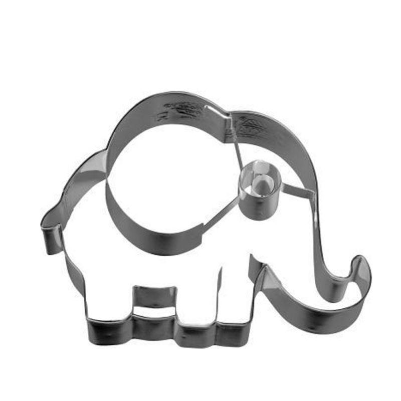 Kochen & Genießen Möbel & Wohnen Ausstecher Elefant Groß Ausstechform Keksausstecher Plätzchenausstecher