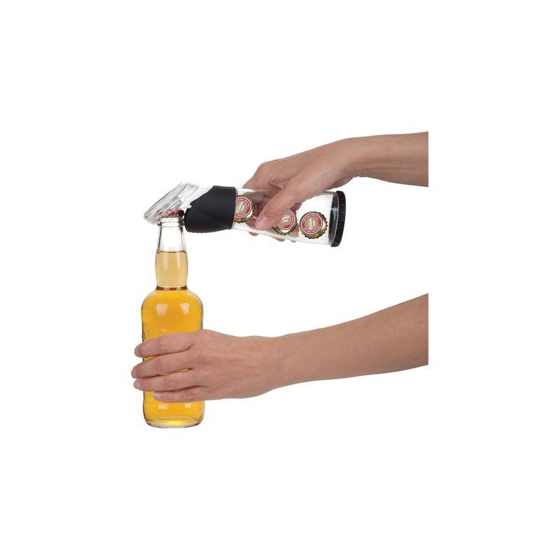 flaschen ffner kronkorken ffner bottle opener mit beh. Black Bedroom Furniture Sets. Home Design Ideas
