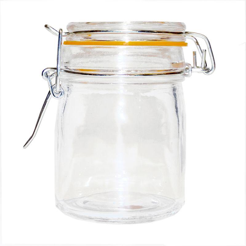b gelglas schnappglas vorratsglas gew rzglas marmeladenglas. Black Bedroom Furniture Sets. Home Design Ideas