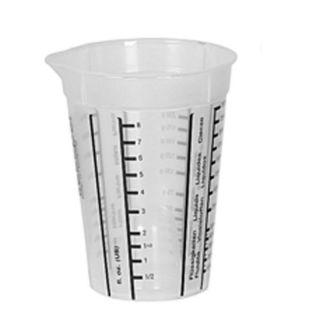 Messbecher transparent 1 Liter mit Skala für Zucker und Mehl auch Linkshänder